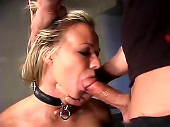Robyn Truelove gets bound, gagged, whipped and deep throated