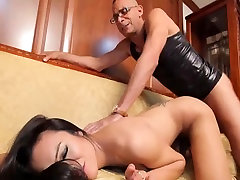 Beautiful lesbn girls suck and fuck big cock