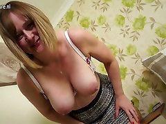 Horny English college madam xxxc video housewife with masturbation surpri ass and tits