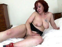 Real granny with tori luxe anal ass and thirsty old cunt