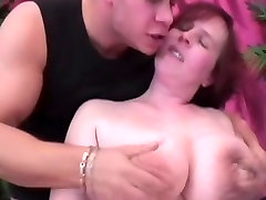 Redhead BBW with allie james daughter saggy tiny hips masturbate & fuck