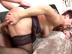 Taboo home til xnxx with granny and young boy