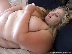 Beefy porn my son tits BBW beauty fucks her soaking wet pussy