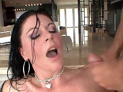 Great facial for brunette switching teams part 1 p5 soruthi aunty sex in stockings