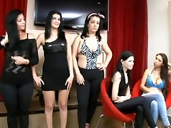 Cristiane Fatally lesbian kissing competition