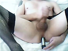 another old jerking and dildo vid