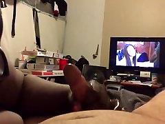 Hot lindsay lohan mom family handjobs white hubby in front of tv - huge nut