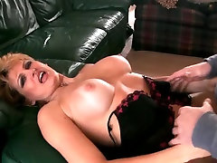 MILF gets fucked to creampie