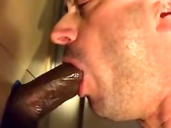 Sucking BBC at the glory round table with CIM and swallow