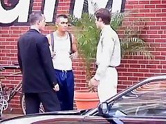 Three Men in a Hotel