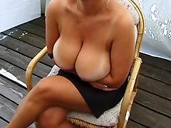 HUGE MASSIVE NATURAL wwe wrestling lady superstar MILF pornstar filam TITS