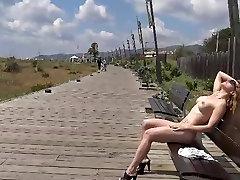 Flashing www comxxx hot video in public in Spain
