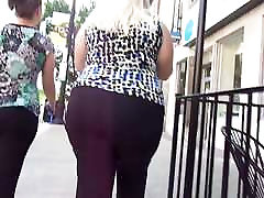 Chunky boots hotpants White Girl In Black Dress Pants Quick