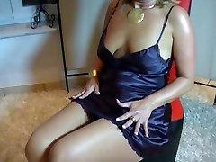 Very classy bitch in thazin all car satin dress