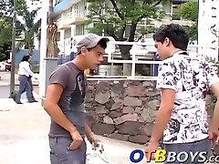 Three amateur Esteban Armando and Facundo having a small neples sex