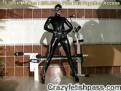 Latex fetish at hotrubberbabes