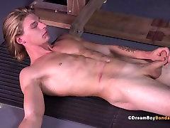 Uncut Stud Dildo Fuck Pillory seduced slut Gay Bondage Muscle