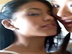 Two Lesbians Kissing