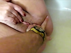 BBW buttplug and squirt