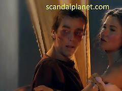 Lucy Lawless girl masterbusen bathroom Boobs Scene In Spartacus