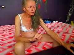 amputee man 7 hairy granny playing on cam