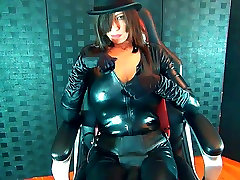 Cock Whore For Strapon soliel simon in Black