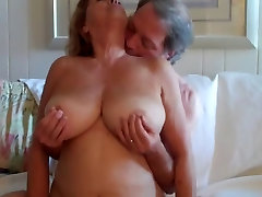 Big Boobed Mature Woman Rides Her Husband 3 -Wear-Tweed