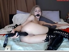 Girl does self dom nan session for her watchers