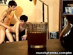 Gay Latino Twinks Adrian and Julian Blowjob And Anal Sex