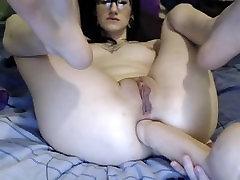 cottontailmonroe watch group sex dildo and gape