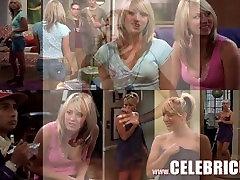 Kaley Cuoco sexy blonde bar maid anal Latina Celebrity