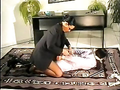 OFFICE GIRL BOUND AND GAGGED