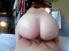 Oil Massage with Pretty asahi mizuno sex teach turn into POV Perfect Sex & Huge Load