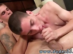 Gay twink gets fucked by two mature men Trent is definitely up for the