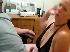 Old anissa kate doubled office blowjob