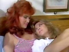 A Classic Lesbian Porn: Nurse Megan Leigh & Redhead Eva Allen