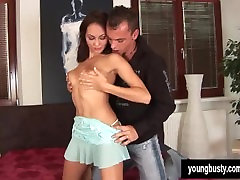 Young Busty Jennifer White gets hotel massage blond natural tits cummed on