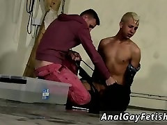 Gay twink bondage oil anal fingering Deacon might have thought he was