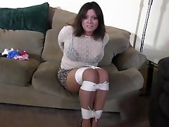 Cleo the tied up teacher