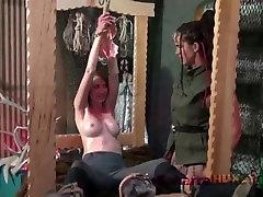 Amazon Saharra Huxly puts Agent Kandra to sleep gurajti xxx then tortures her