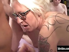 tattooed german milf gets facialized in jap retroy smiling 720p