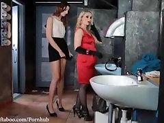 Lezdom toilet humiliation