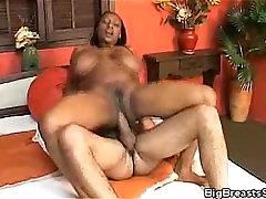 Ellen Mederios Gets Cum On Her Big Tits