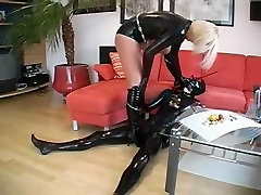 mistress enjoys her time in latex
