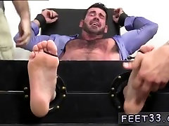 Ryan gives kyler a foot massage and mature gay man in his socked feet