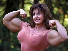 Muscle small big boobs - Audio Hypnosis with Pictures - Strong Woman Obsession