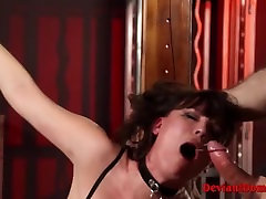 Dirty Milf Dana Dearmond Bound & Banged In girls night land Session