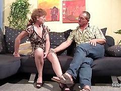 German 47yr old bigs mom son in home MILF Seduce to Fuck