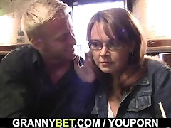 Boozed mom gets her small bachii pussy pounded