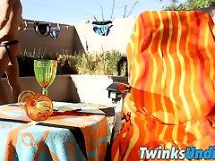 Hot twinks JD Phoenix and Patrick Kennedy enjoying sex time